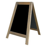 A Frame Notice Board Stock Photo