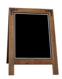 A-frame Notice Board Stock Image