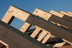 Frame novo do telhado Imagens de Stock Royalty Free