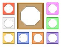 Frame-octagon01 moderno ilustración del vector