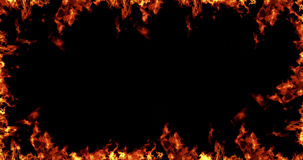 Free Frame Of Real Fire Flames Burn Stock Images - 71882964