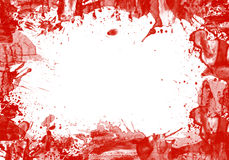 Frame Of Splash Blood And Copy Space Stock Image