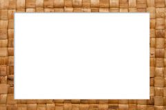 Frame Of Weave Basket Royalty Free Stock Photography