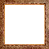 Frame old leather Stock Image