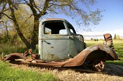 Frame of an old pickup Stock Photos