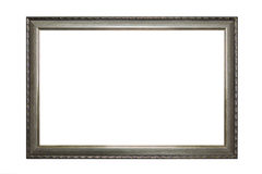 Frame of old-style baget Stock Image