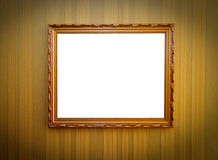 Frame op de muur Stock Afbeeldingen