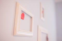 Frame op de muur Royalty-vrije Stock Foto