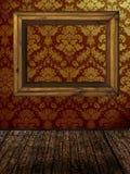 Frame op muur Royalty-vrije Stock Afbeelding
