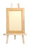 Frame op schildersezel Stock Fotografie