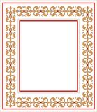 Frame with ornament vector illustration