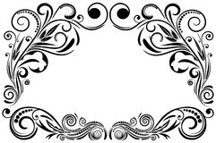 Frame ornament. Royalty Free Stock Image