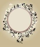 Frame ornamentado floral bonito Fotos de Stock Royalty Free