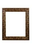 Frame ornamentado no branco com espaço da cópia Fotografia de Stock Royalty Free