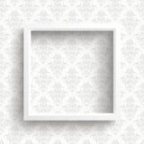 Frame Ornaments Wallpaper Stock Image