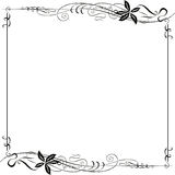 Frame Ornate Art Nouveau Royalty Free Stock Image