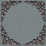Frame. Ornate battered empty picture frame Royalty Free Stock Photography
