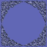 Frame. Ornate battered empty picture frame Royalty Free Stock Images