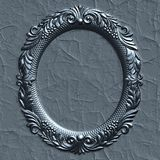 Frame. Ornate battered empty picture frame Stock Photo