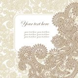 Frame Ornate Card Announcement Stock Images