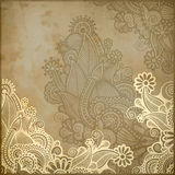 Frame Ornate Card Announcement Royalty Free Stock Images
