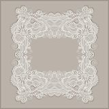 Frame ornate card announcement Royalty Free Stock Photography