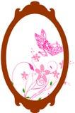 Frame oval Fotografia de Stock