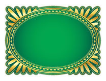 Frame oval Fotografia de Stock Royalty Free