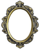 FRAME OVAL Foto de Stock Royalty Free