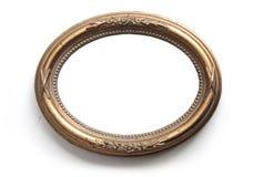 Frame oval da foto Foto de Stock Royalty Free
