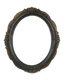 Frame oval da foto Fotografia de Stock