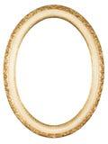Frame oval isolado Foto de Stock
