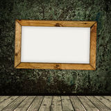 Frame over grunge interior Stock Photography