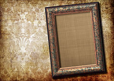 Frame over vintage background Royalty Free Stock Image