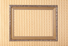 Frame over the wall Royalty Free Stock Photography