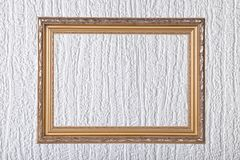 Frame over the  wall Royalty Free Stock Photo