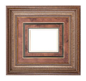 Frame for painting and picture Stock Photo