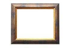 Frame for paintings Stock Photos