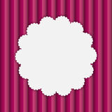 Frame in Paper Vintage Seamless Background. Vector Stock Images