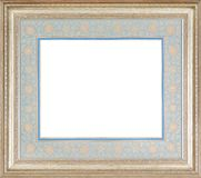 Frame with passe-partout. Beautiful decorative coloured frame with passe-partout for painting or picture Stock Photo
