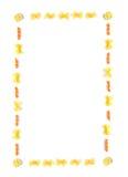 frame pasta Στοκ εικόνες με δικαίωμα ελεύθερης χρήσης