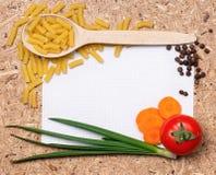 Frame of pasta Stock Photos