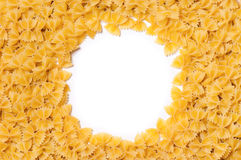 Frame pasta Royalty Free Stock Photos