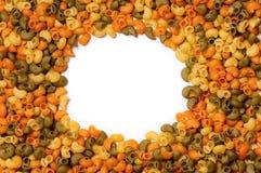 Frame pasta Stock Photo