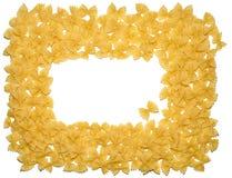 Frame pasta Royalty Free Stock Photo