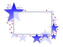 Frame patriótico Fotos de Stock Royalty Free