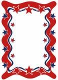 Frame patriótico ilustração do vetor