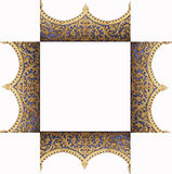 Frame of the pattern of the temple Stock Photo