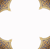 Frame of the pattern of the temple Royalty Free Stock Image