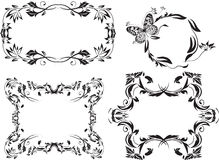 Frame pattern02 Royalty Free Stock Images